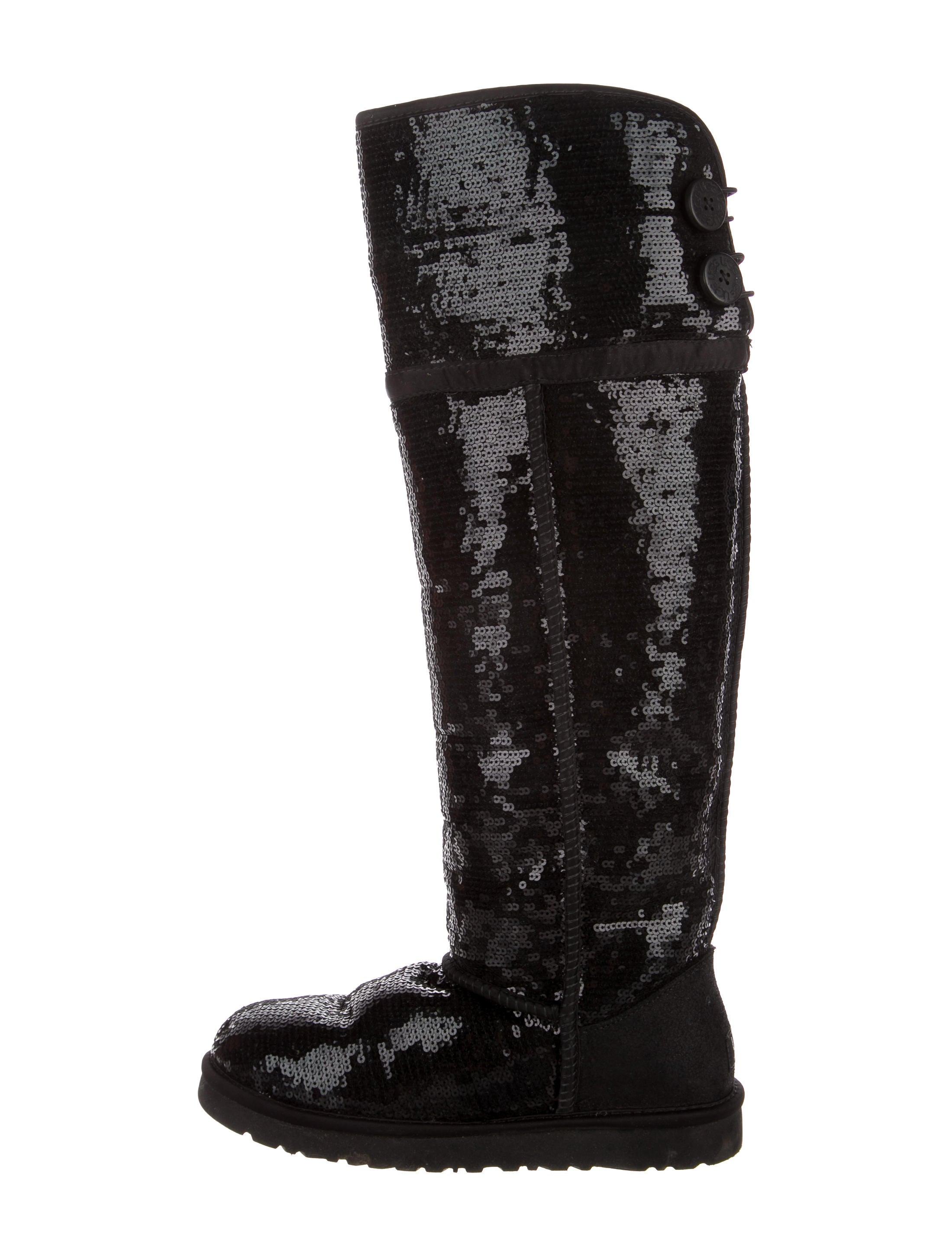 fb8b3e4cda4 Bailey Button Sparkles Over-The-Knee Boots