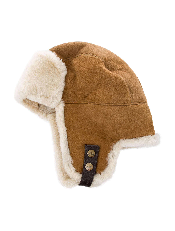 3e6672a7b6dfb UGG Australia Shearling Trapper Hat - Accessories - WUUGG23870