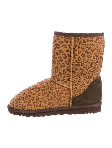 Womens Leopard Print Ugg Boots