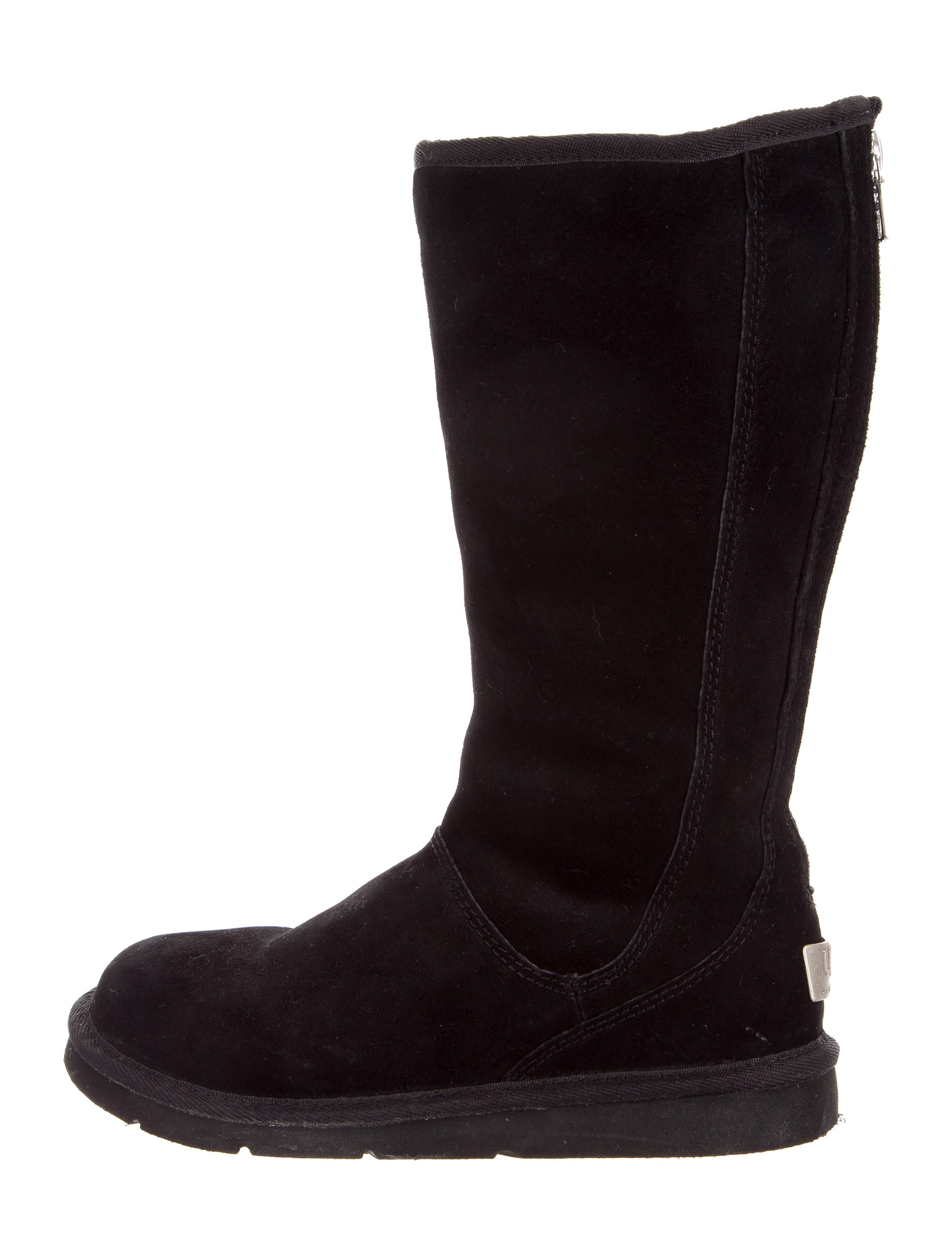 d7ce048adc7 Suede Knightsbridge Boots