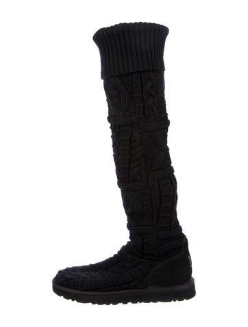 UGG Australia Knee-High Knit Boots None