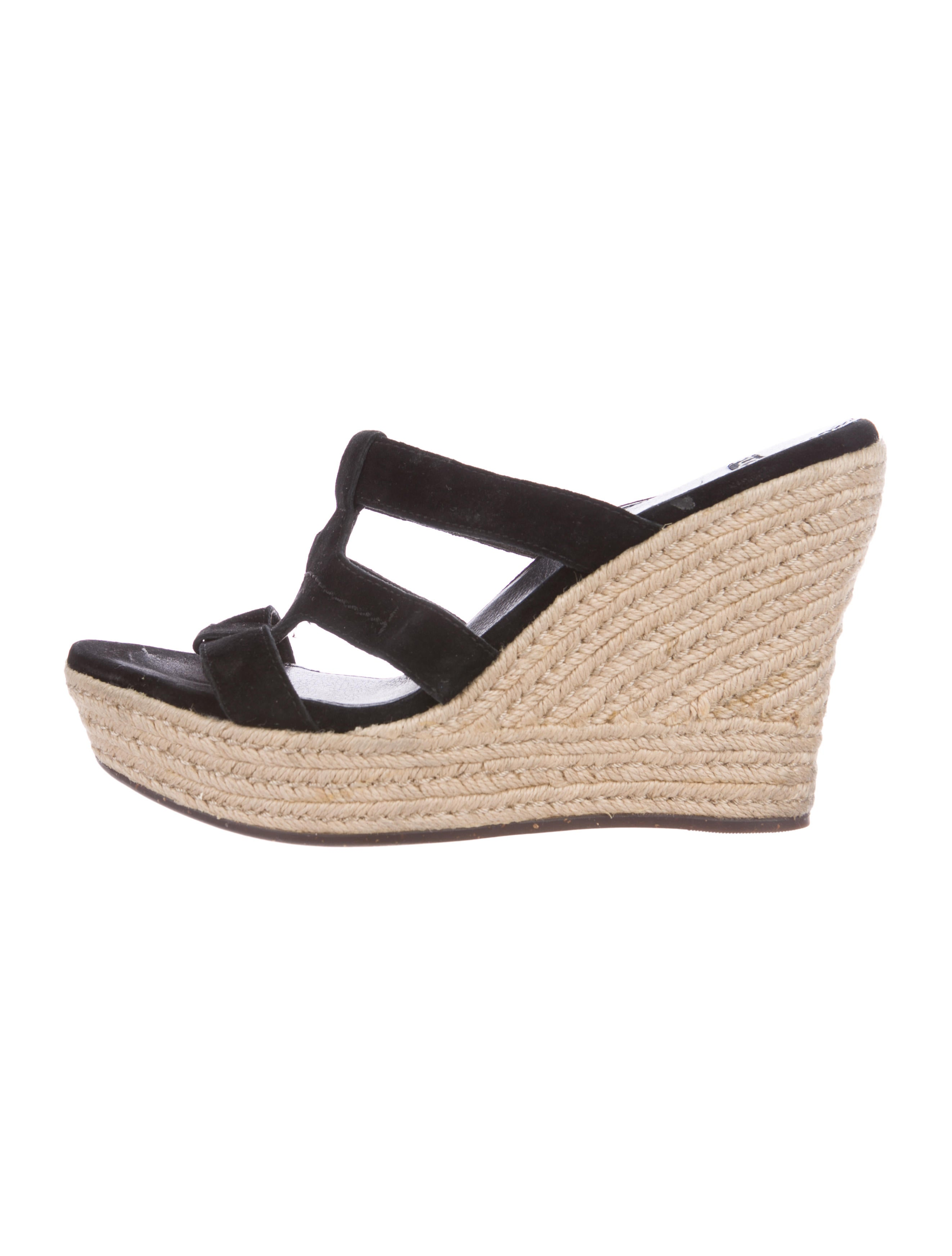 UGG Australia Suede Espadrille Wedges cheap sale with credit card huge surprise cheap online fashionable order for sale best for sale baS0ITz