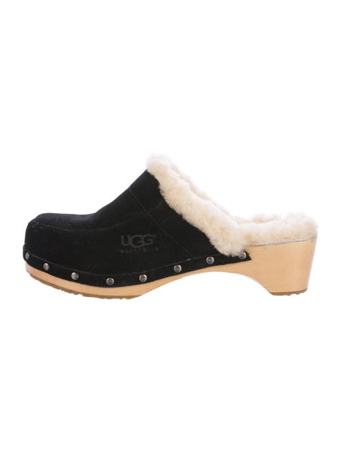 c13995522ff UGG Australia Suede Kalie Clogs - Shoes - WUUGG24632 | The RealReal