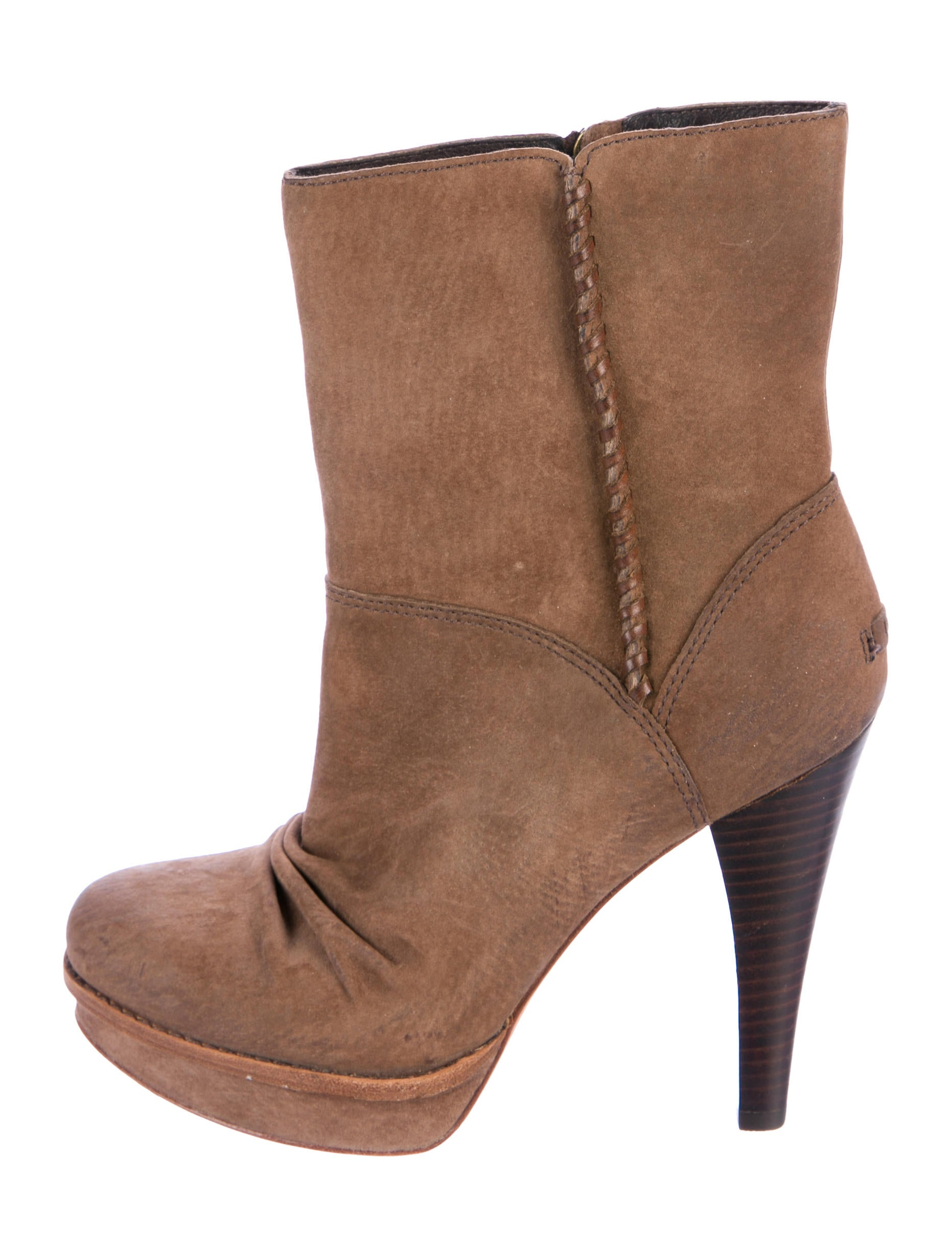 UGG Australia Suede Bianka Booties with credit card cheap price cheap sale for cheap free shipping visit new buy cheap latest hQudlTjF0L