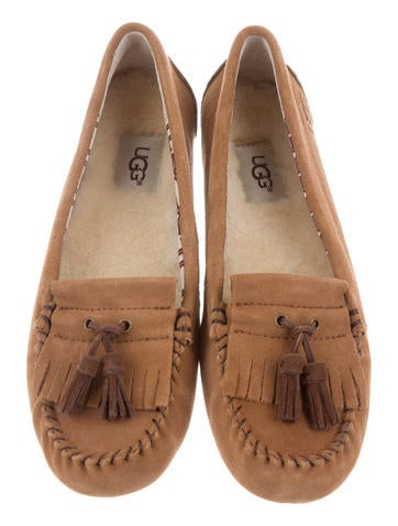 UGG Australia Suede Moccasin Flats sale 100% guaranteed best prices for sale buy cheap for nice Hfmms3