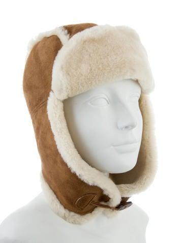 509a9f96d0e02 UGG Australia Shearling Trapper Hat - Accessories - WUUGG24765