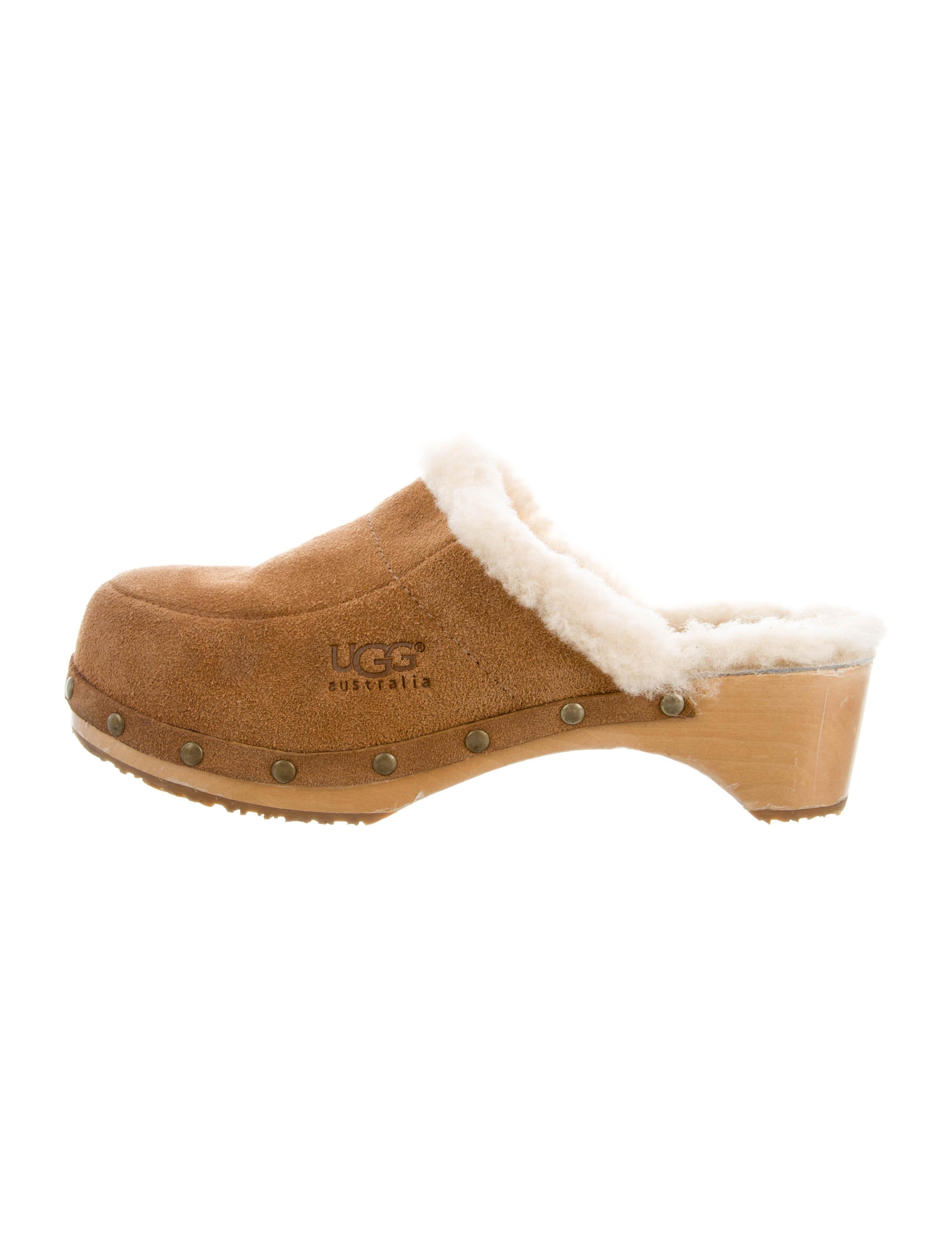 outlet for nice finishline online UGG Australia Suede Kalie Clogs UABmp