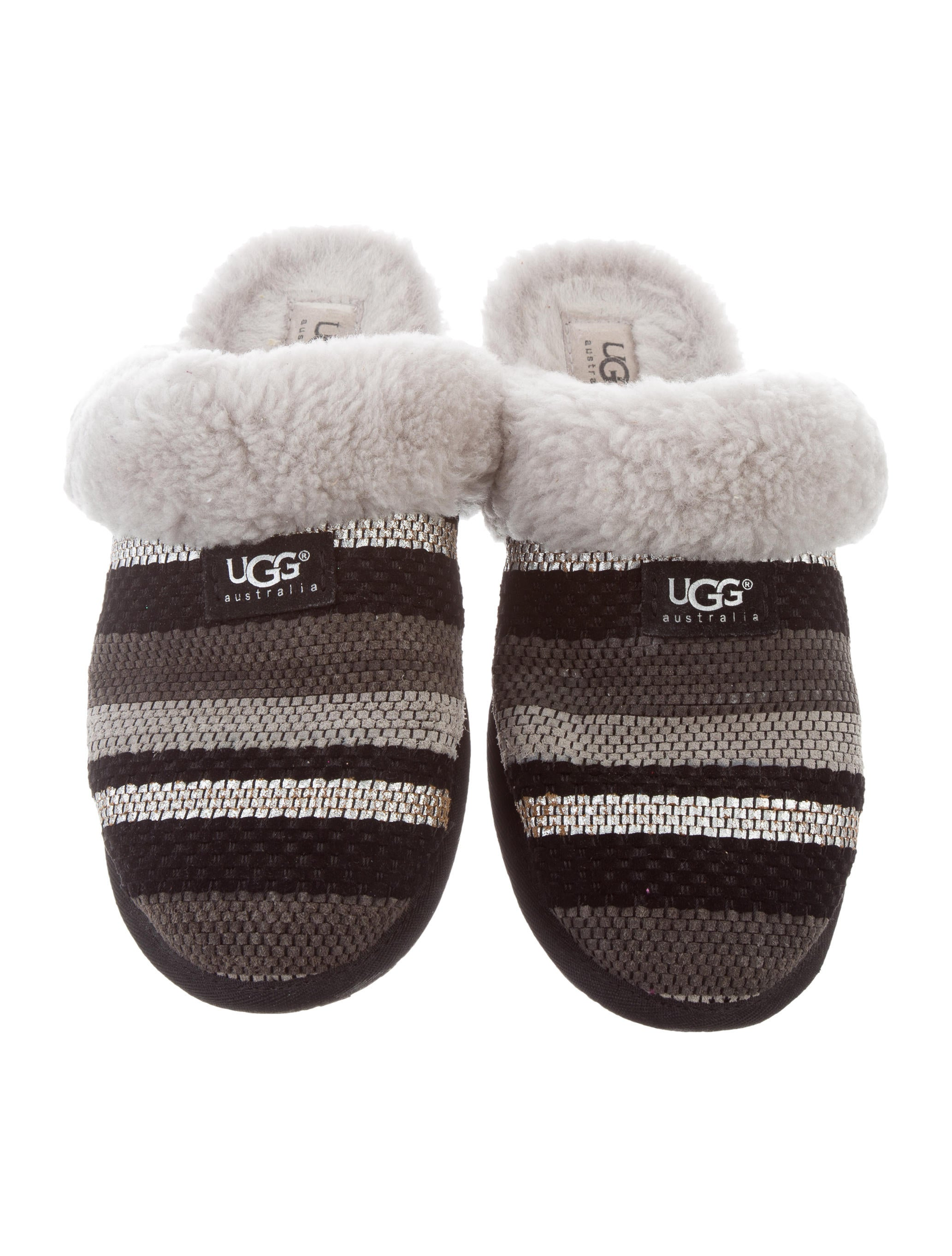 UGG Australia Woven Shearling Slippers cheap sale 2014 new uFW8sSQN4