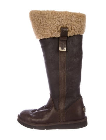 UGG Australia Shearling Knee-High Boots