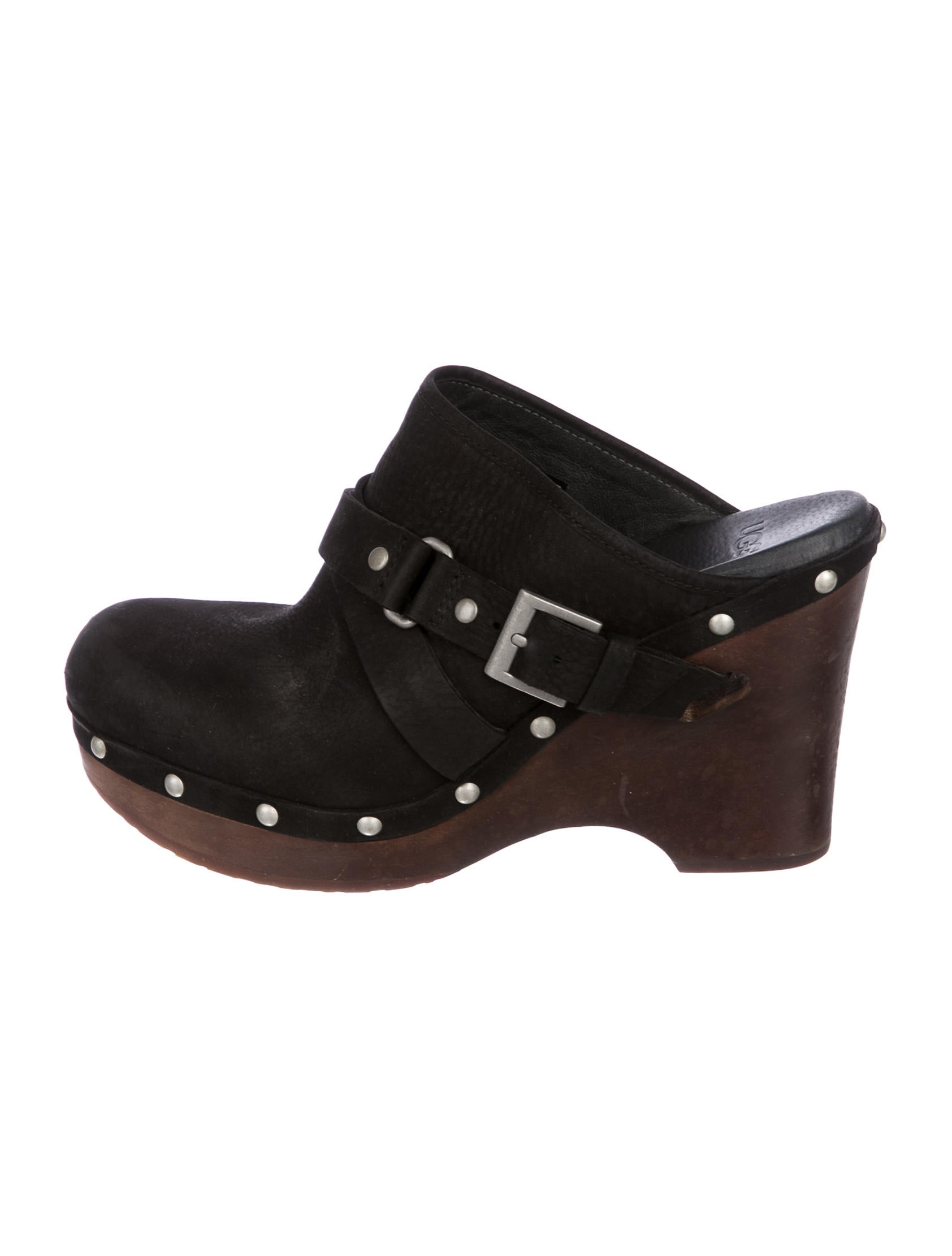 cheap discounts UGG Australia Leather Natalee Clogs discount Cheapest with mastercard cheap online 9jAgCOx