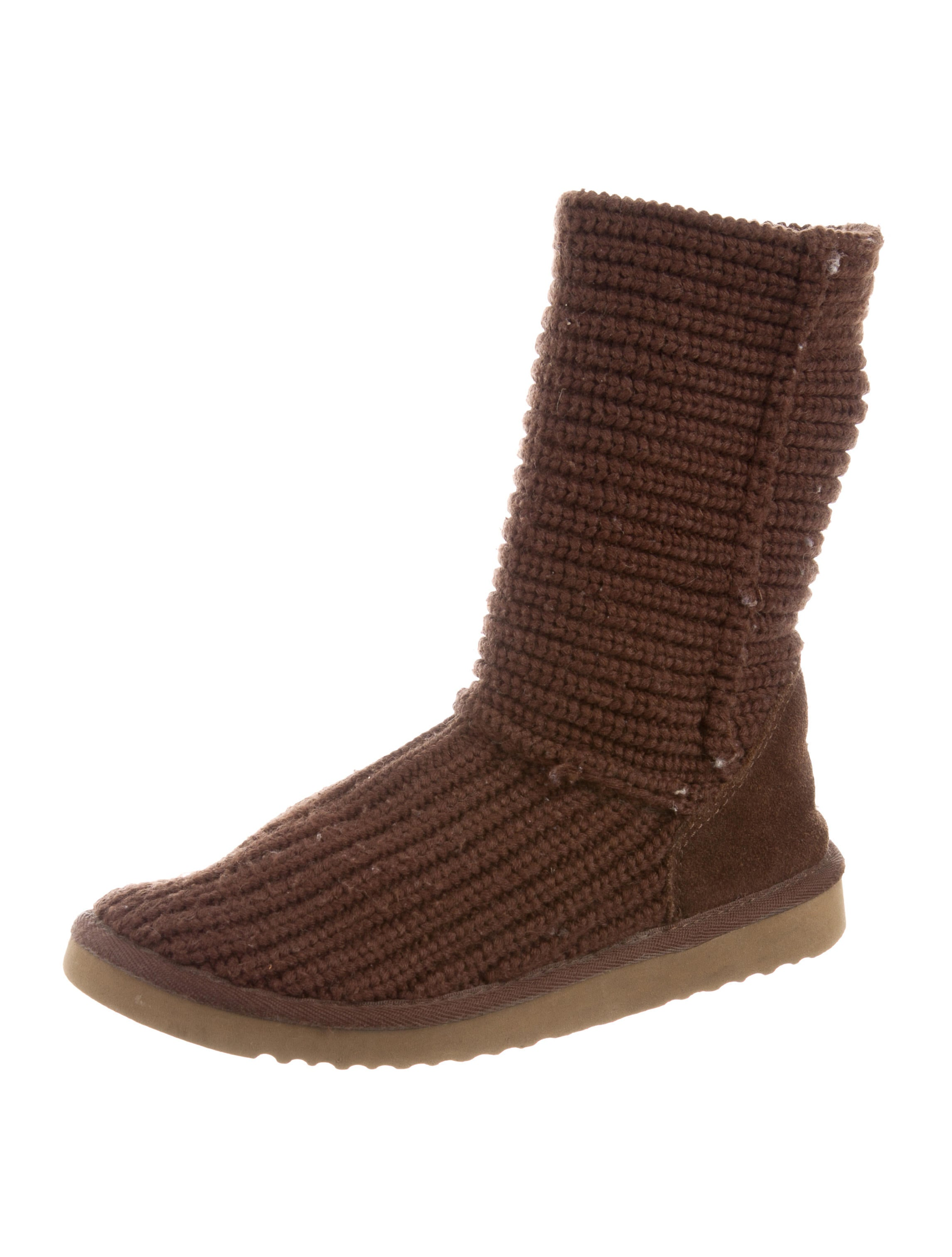 pick a best cheap price visit new cheap price UGG Australia Knit Round-Toe Boots fashion Style cheap online Md05ELH9