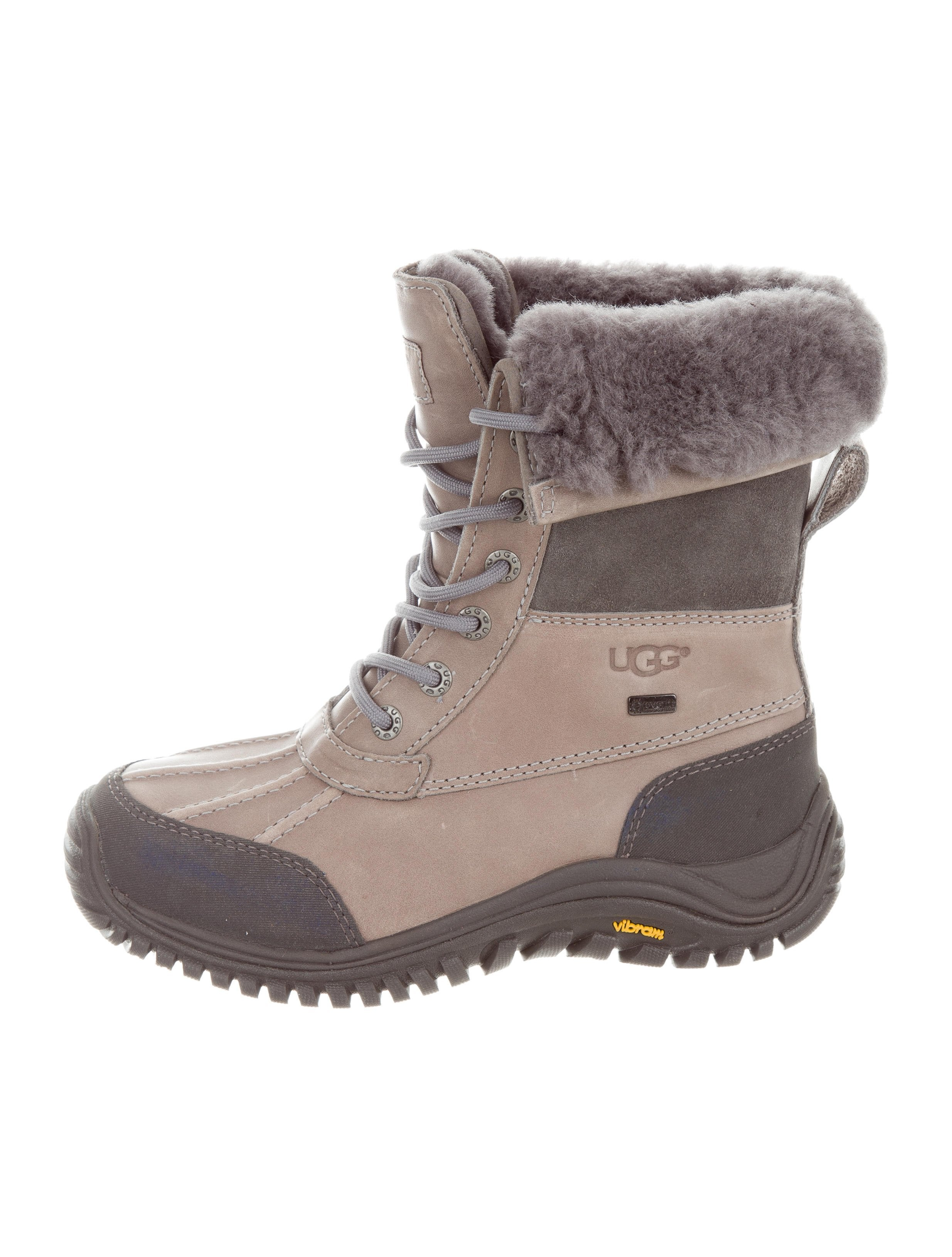 UGG Australia Shearling-Trimmed Ankle Boots shipping discount authentic discount how much clearance pick a best top quality sale online cheap amazon vafH3Kfcr