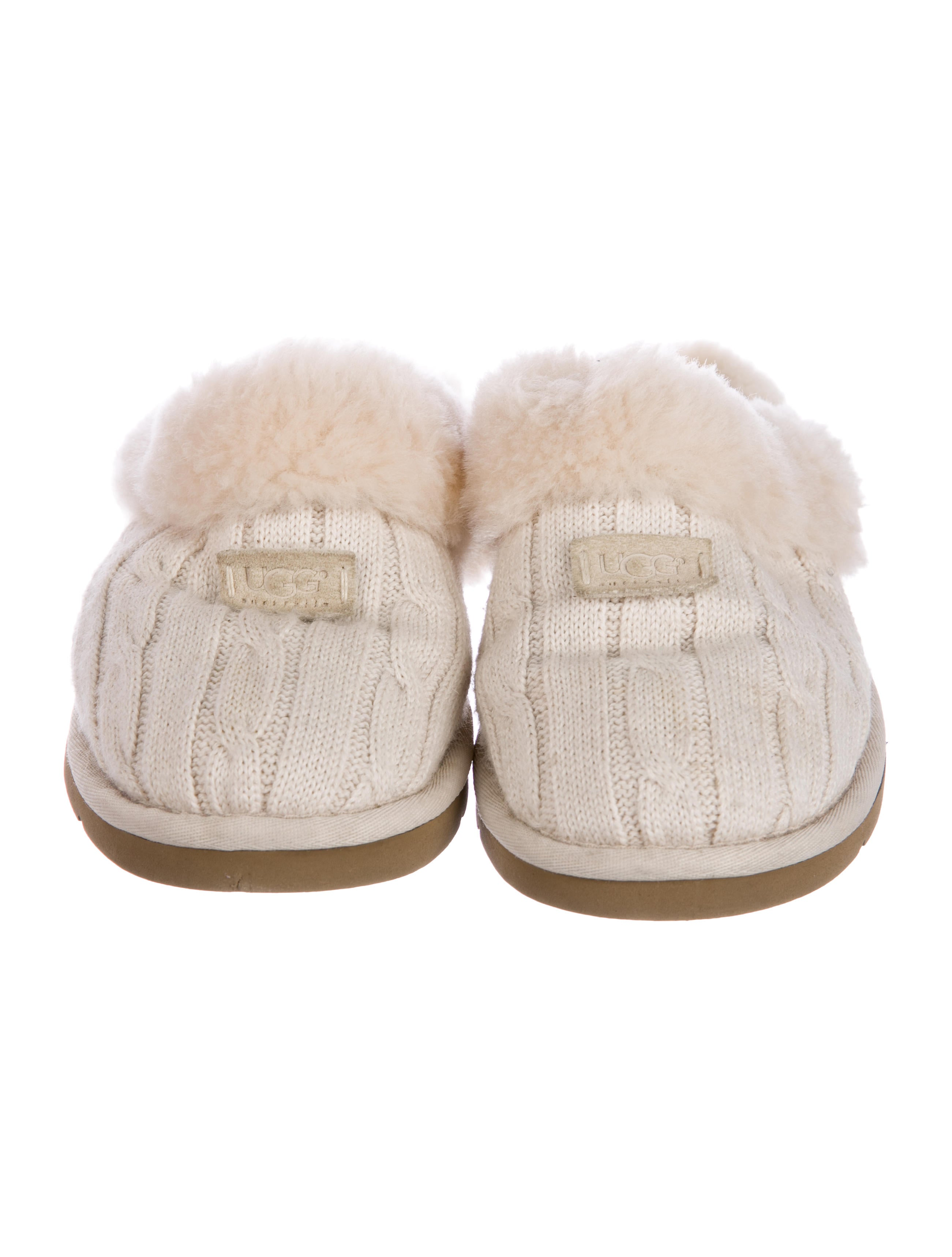 Ugg Australia Cozy Knit Slippers Shoes Wuugg25846 The Realreal