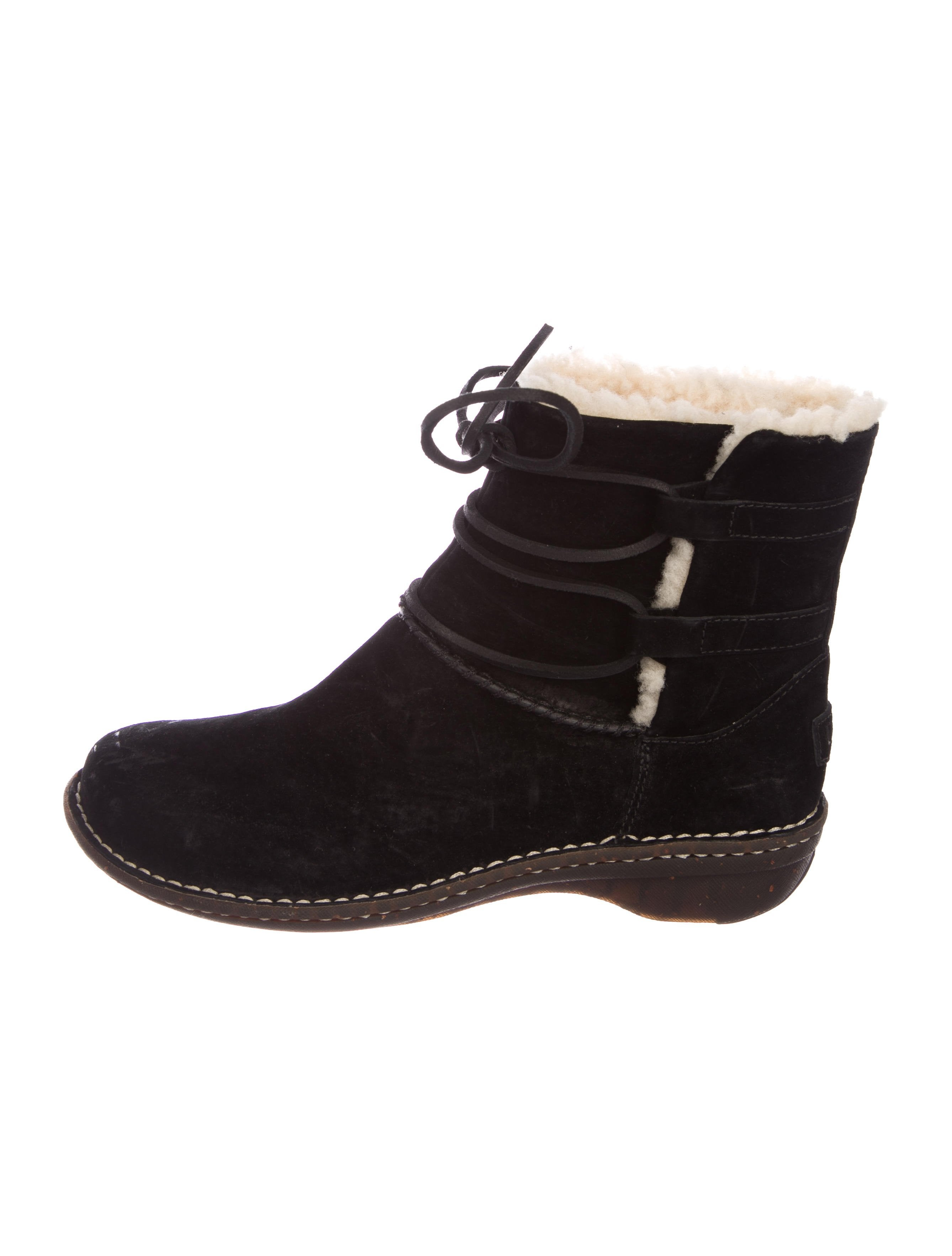 discount visa payment view for sale UGG Australia Caspian Round-Toe Ankle Boots buy cheap get to buy fashionable collections online hqQCvSW