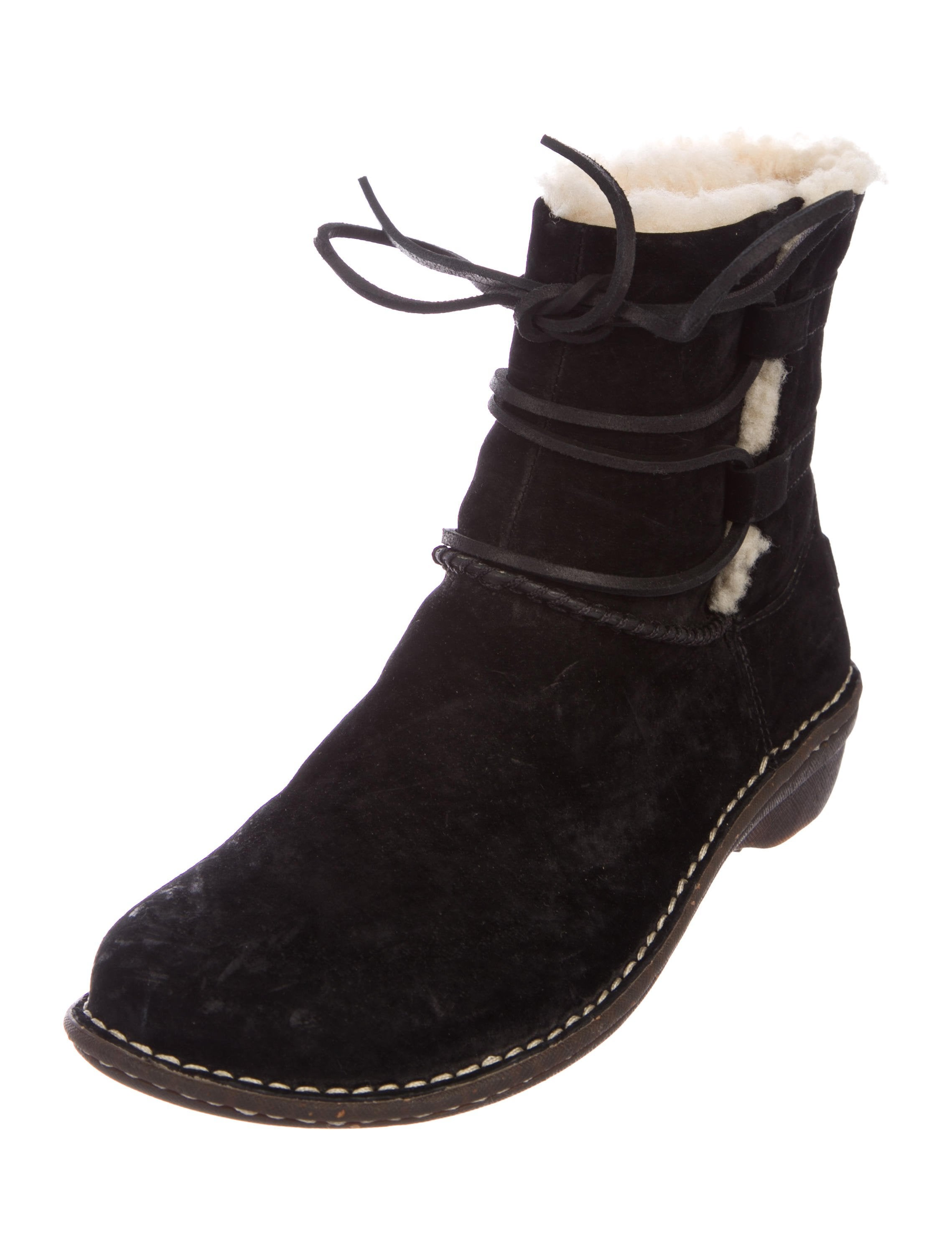 UGG Australia Caspian Round-Toe Ankle Boots cheapest price online outlet from china VUyRUlYy
