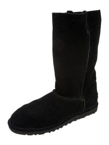 2015 sale online free shipping prices UGG Australia Perforated Mid-Calf Boots free shipping view xguud