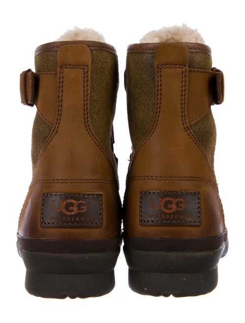 8dc6f8f9de2 UGG Australia Cecile Shearling-Trimmed Duck Boots - Shoes ...