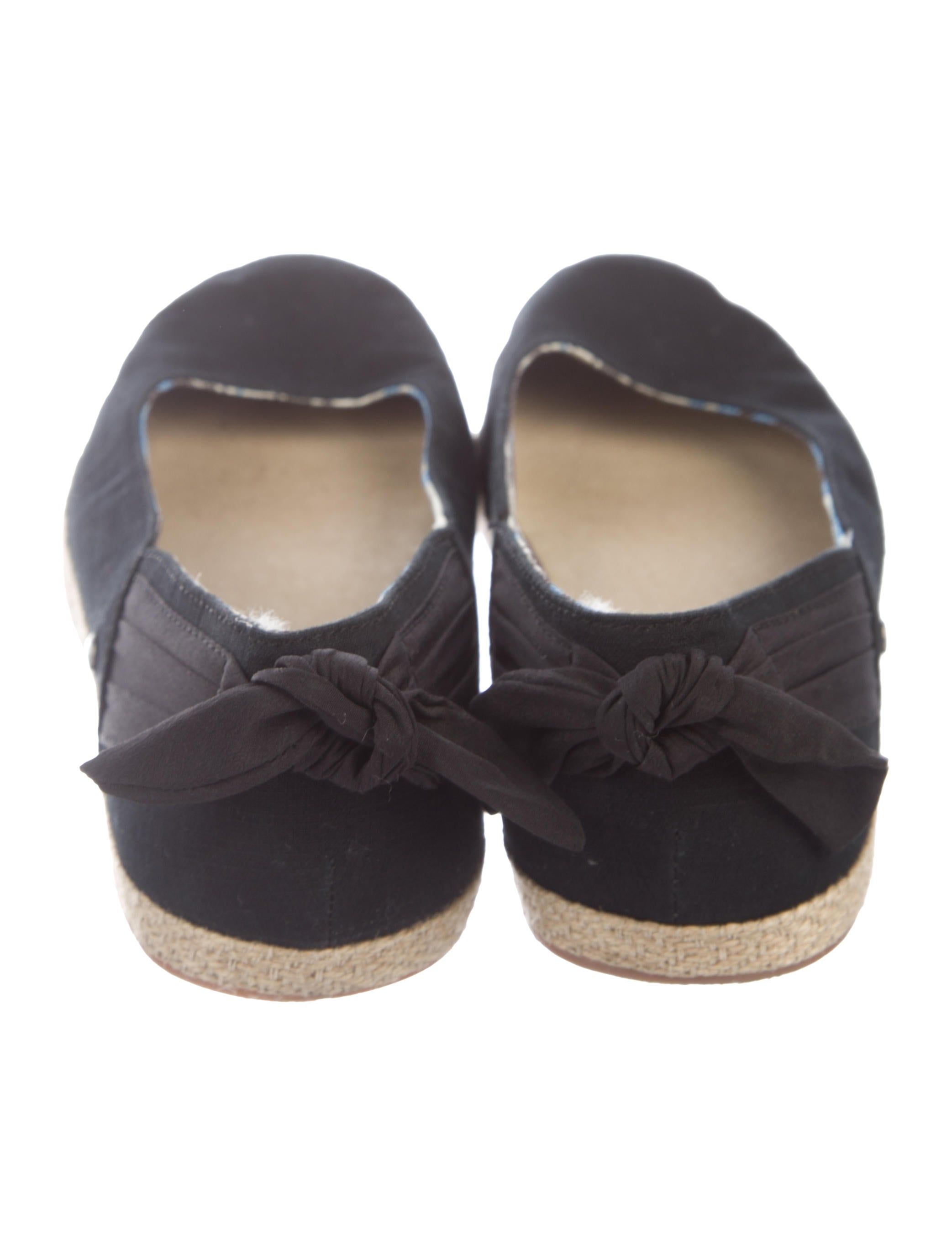 Suede Round-Toe Flats