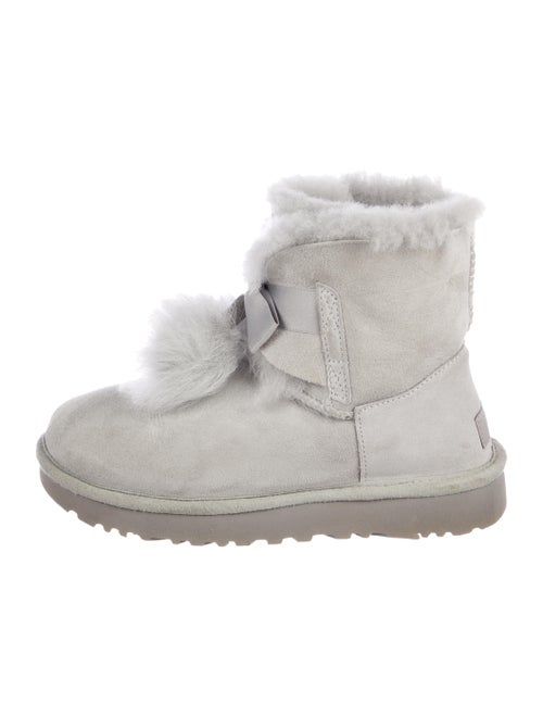 ef33795169eec UGG Australia Suede Ankle Boots - Shoes - WUUGG29171 | The RealReal