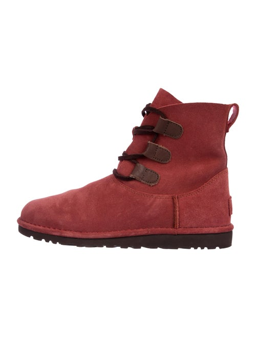 b7159730775 UGG Australia Elvi Suede Ankle Boots - Shoes - WUUGG34529 | The RealReal