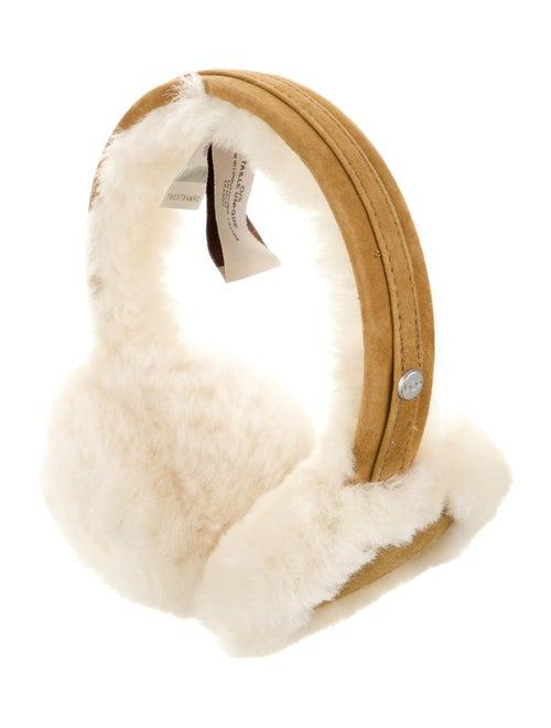UGG Australia Suede Shearling Earmuffs