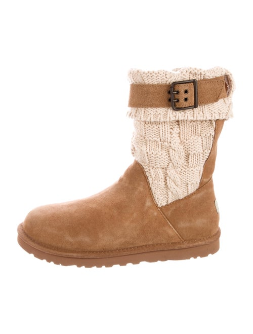 UGG Cassidee Mid-Calf Boots Suede Boots Brown