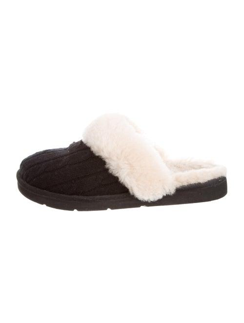 UGG Cozy Knit Slippers Black