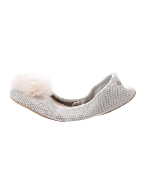 UGG Andi Shearling Slippers Grey