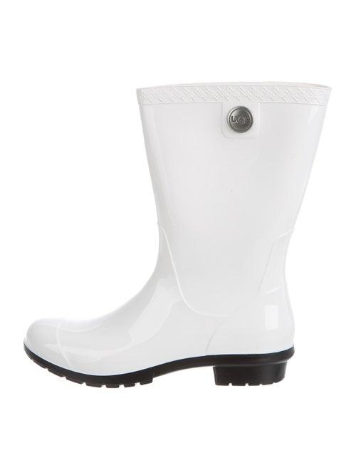 UGG Sienna Rain Boots White