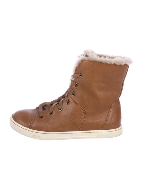 UGG Leather High-Top Sneakers