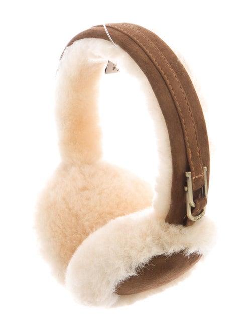 UGG Suede Shearling Earmuffs