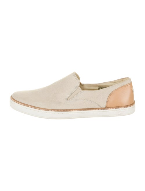 UGG Leather Colorblock Pattern Sneakers