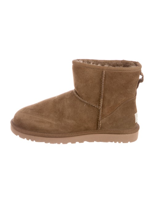 UGG Classic Mini Suede Boots Green