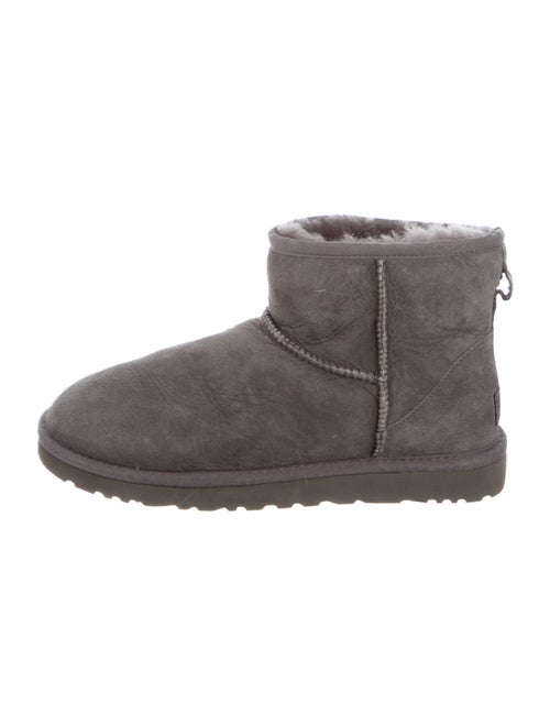 UGG Classic Mini Suede Boots Grey