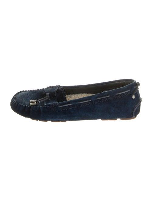 UGG Suede Moccasins Blue