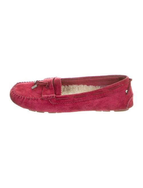 UGG Suede Moccasins Red