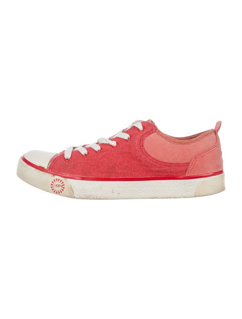 UGG Signature Logo Sneakers Red