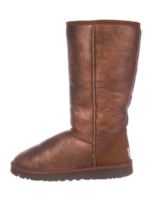 UGG Australia Signature Logo Boots Brown