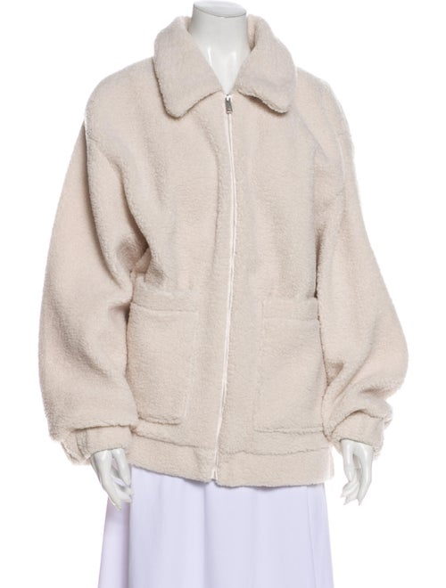 UGG Faux Fur Jacket White