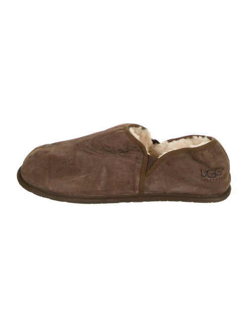 UGG Suede Slippers Brown