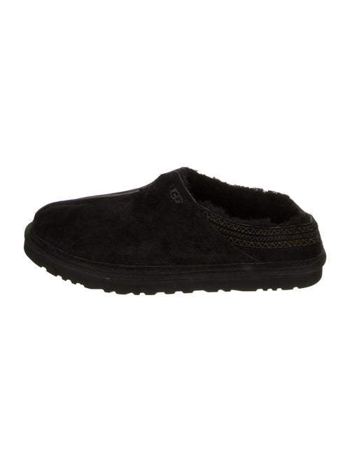 UGG Suede Slippers Black