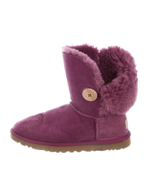 UGG Lambskin Boots Purple