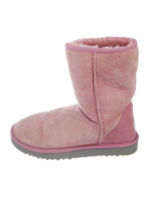 UGG Leather Boots Pink