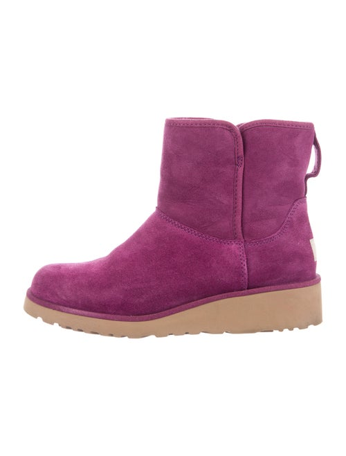 UGG Suede Boots Purple