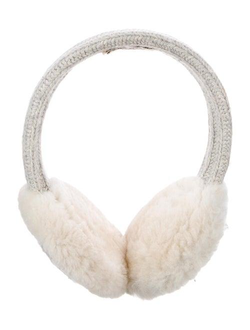 UGG Shearling Knit Earmuffs grey