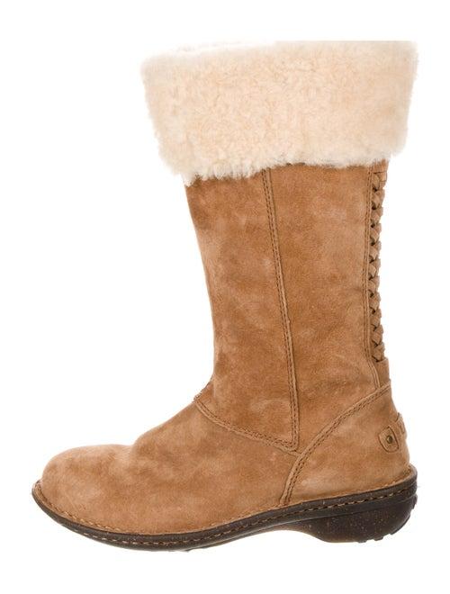 UGG Karyn Shearling Boots Brown