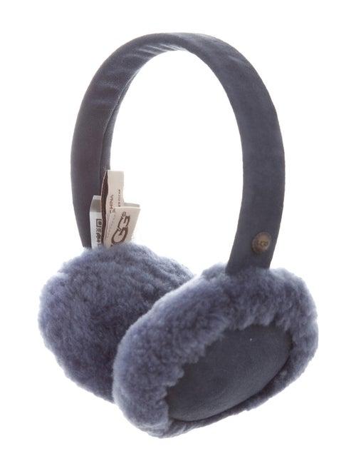 UGG Shearling Earmuffs Blu