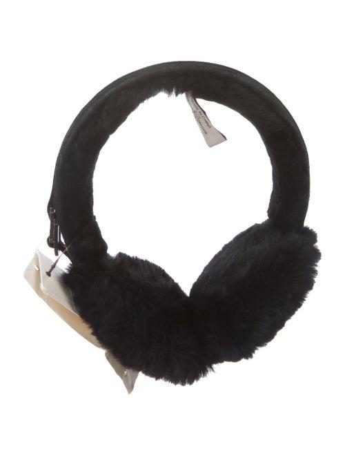 UGG Shearling Earmuffs w/ Tags Black