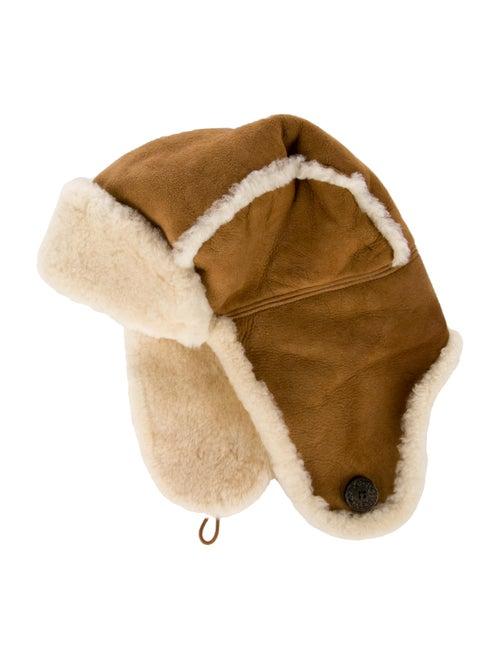 UGG Shearling Hat. Brown
