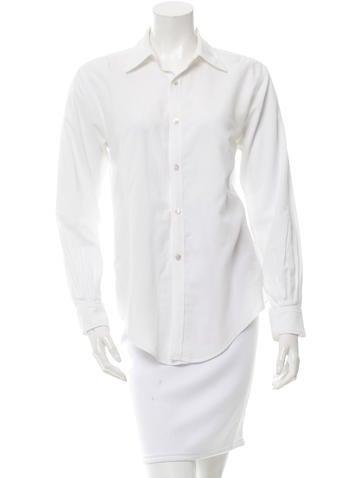 Crippen Long Sleeve Button-Up Top None